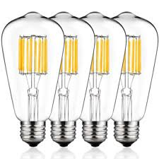 ST64 <b>Light</b> Bulbs with <b>Dimmable</b> for sale | eBay