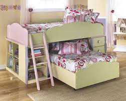 crossed low bunk bed with ladder decor floral patterned gallery of sheets in cute beds for kids bunk bed steps casa kids