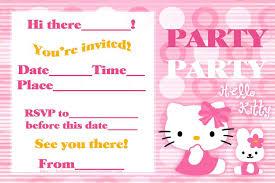 Hello Kitty Birthday Invitations - Invitations Templates ... Invitation Templates - Hello Kitty First Birthday Invitations ...