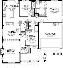 Roof Pitch Ranch House Plans  Ranch House Left View Ranch House    House Plans   View