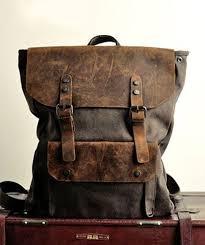 <b>Canvas Backpack</b> Travel Rucksacks <b>Canvas</b> Daypack | Винтажные ...
