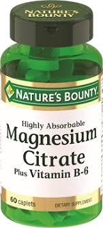 <b>Цитрат Магния</b> с витамином В-6 | <b>Nature's Bounty</b> - Be Your ...