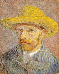 vincent van gogh 1853 1890 essay heilbrunn timeline of art self portrait a straw hat obverse the potato peeler