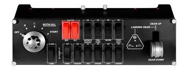 Панель Switch Panel от <b>Logitech</b> G для авиасимуляторов