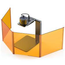 <b>LaserPecker Pro Magnetic</b> Protective Shield Orange Laser ...