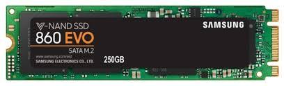 Твердотельный <b>накопитель Samsung</b> 860 EVO 250 GB (MZ ...