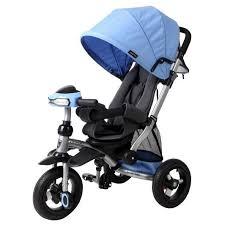 <b>Трехколесный велосипед Moby Kids</b> Stroller trike 10x10 AIR Car ...
