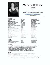 1000 images about theatre auditions on pinterest musical theatre audition resume format