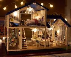 diy doll house miniature wooden dollhouse miniaturas furniture toy toys for gift home decor craft figurines