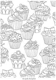 Small Picture 312 best cupcake sweets images on Pinterest Coloring books