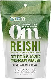 Om Organic Mushroom Nutrition Supplement Reishi ... - Amazon.com
