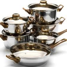 Набор посуды <b>Mayer&Boch</b> 4 кастрюли 1 ковш и <b>сковорода с</b> ...