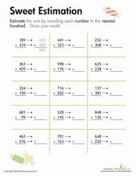 ideas about Rounding Worksheets on Pinterest   Rounding     Pinterest Rounding and estimation worksheets help your child master these important concepts  Browse our rounding and estimation printables and find a few for your
