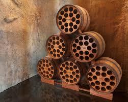 wine barrel furniture wine wine cellar wine barrel storage rack arched napa valley wine barrel table