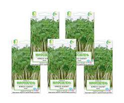 <b>Семена</b> на <b>Микрозелень Кресс</b>-<b>салат Микс</b> (ЦВ) 5гр. Комплект из ...