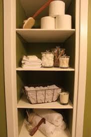 open shelving shelves bathroomjpg bathroom remodel behr grape leaves bathroom built in shelves shelf dec