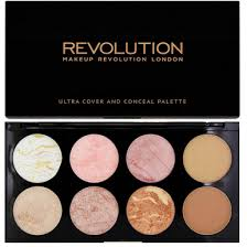 REVOLUTION <b>ПАЛЕТКА РУМЯН</b> ULTRA <b>BLUSH PALETTE</b> Golden ...
