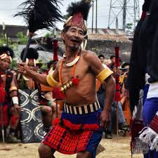 meeting the last surviving headhunters of nagaland global headhunter man dancing at aoling festival