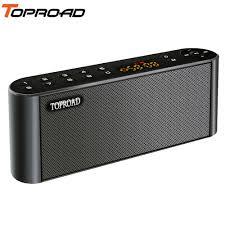 TOPROAD <b>Wireless Bluetooth</b> Speakers <b>Portable</b> Enceinte Speaker ...