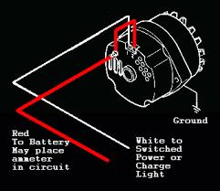 one wire alternator wiring diagram one image chevy one wire alternator diagram wirdig on one wire alternator wiring diagram
