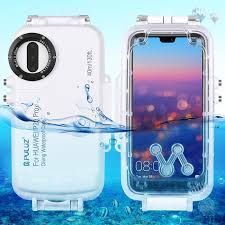 <b>PULUZ 40m</b>/<b>130ft Underwater</b> Diving Phone Protective <b>Case</b> for ...