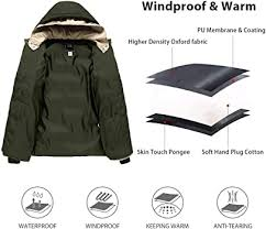 ZSHOW <b>Mens</b> Winter <b>Thicken</b> Jacket Warm Double Hooded Quilted ...