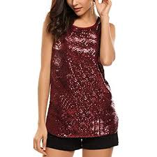 Nacome_Promotion <b>Sexy Camis Women</b>,Sleeveless Sparkle ...