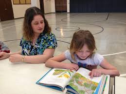 Out of school time programs succeed when they are connected to     Stormy Wolff  daughter of Sara Wolff  Groton  is getting some homework help from