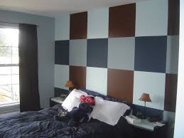 cool guys bedroom with black black furniture what color walls