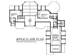 House Plan at FamilyHomePlans comHouse Plan Level Two