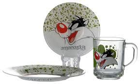 Купить <b>набор детской посуды Pasabahce</b> Сильвестр 3 предмета ...
