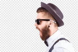 кричащий мужской портрет, Fashion <b>Hipster</b> Hat Man, Мужская ...