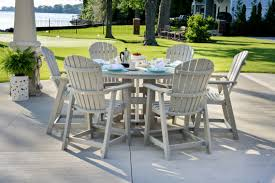table bar height chairs diy: outdoor bar height table and chairs ideas