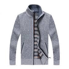 2019 <b>Autumn New Cardigan</b> Knitted Men <b>Sweater</b> Winter Warm ...