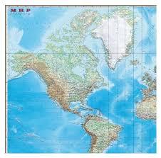 Купить <b>DMB Физическая карта Мира</b> с границами 1:15 (293) по ...