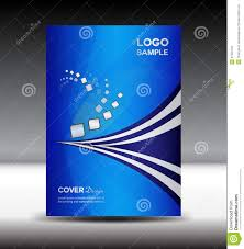 blue cover design and cover annual report vector illustration blue cover design and cover annual report vector illustration