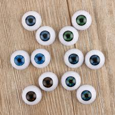 8pc Realistic Hollow Back Fake Eyes Eyeballs DIY <b>Halloween Prop</b> ...