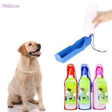 250ml <b>Creative Pet</b> Dog Drink <b>Water Bottle</b> Plastic Portable Water ...