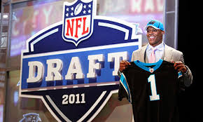 Image result for cam newton draft day image