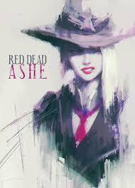 Red Dead Ashe (OVERWATCH), Alex Chow - ArtStation