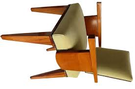 pair of french art deco arm chairs by andre sornay art deco chairs