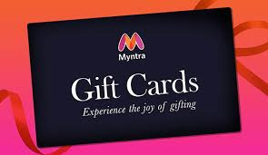 Gift Cards - Buy Gift Cards & Gift Vouchers Online - Myntra