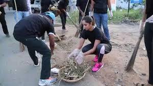 sania mirza joins pm modi s swachh bharat abhiyaan mumbai page