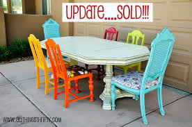 1950s Dining Room Furniture 1950s Dining Room Table Retro Dining Room Table With Colorful