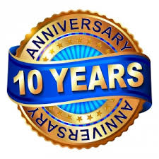 Image result for 10 year anniversary