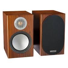 Купить <b>Полочную акустику Monitor Audio</b> Silver 50 (6G) walnut в ...