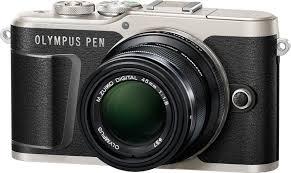 Беззеркальный <b>фотоаппарат Olympus E</b>-<b>PL9</b>, Black + объектив ...