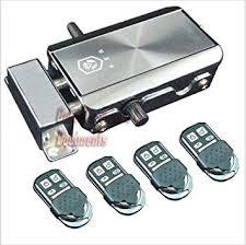 NSEE <b>HXQ908</b> Automatic Gate <b>Lock</b> Remote Control Latch in ...