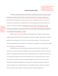 write an effective response paper these tips paper writing how to write a response paper about com
