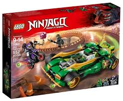 <b>Конструктор LEGO Ninjago</b> 70641 Ночной вездеход Ниндзя ...